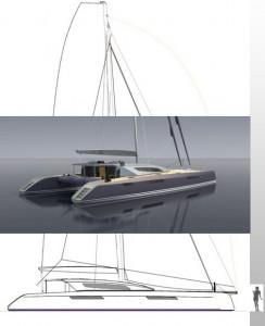85' Aeroyacht catamaran