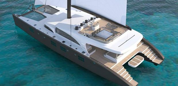 116' SUNREEF catamaran