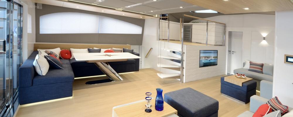60′ Sunreef Power catamaran