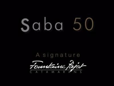 new Saba 50 catamaran
