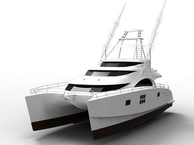 Sunreef 70 Sportfishing catamaran
