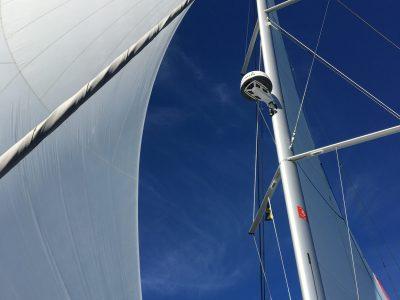 ICW recuced height mast option - Bavaria Nautitech 40 Open
