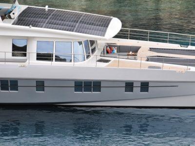 Solarwave 64 solar catamaran