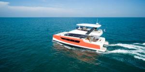 Heliotrope 48 Power Catamaran Video