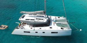 FLO Bavaria Nautitech 46 Open catamaran