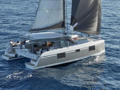 Natitech 40 catamarana Mark II SAIL Magazine article Dec 2018 Tom Dove