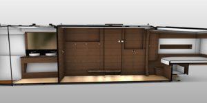 New Nautitech 46 Open catamaran interior