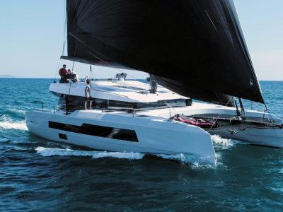 McConaghy 50 catamaran Sail Test