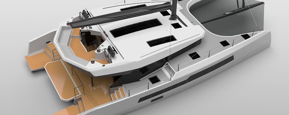 McConaghy MC55 catamaran multihull
