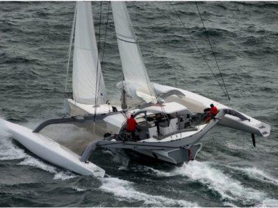 McConaghy 53 trimaran FINN for sale Newport RI Aeroyacht1