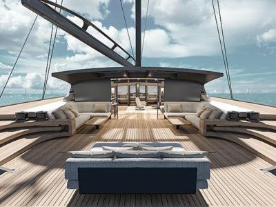 BlackCat 30 Superyacht catamaran by McConaghy
