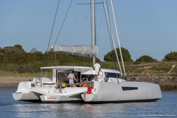 NEEL 47 trimaran Yacht Charters
