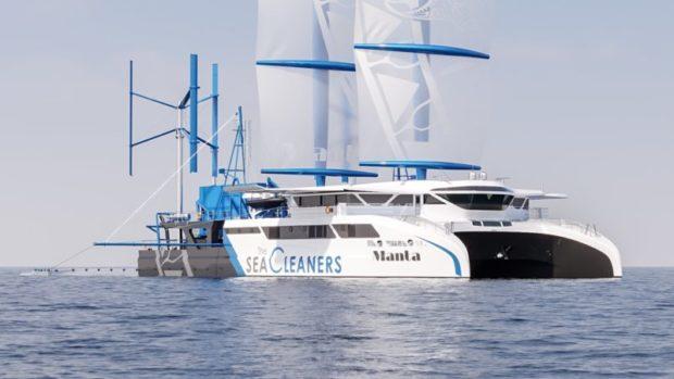 Manta - Sea Cleaner Sailing catamaran - Aeroyacht Multihull Specialists
