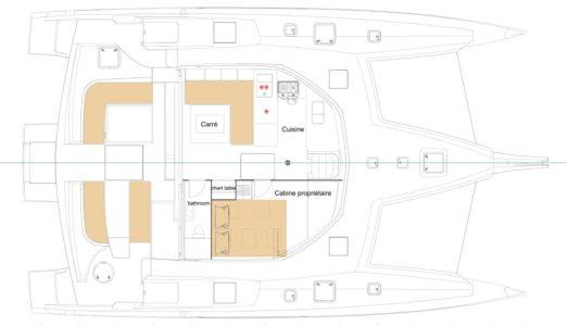 new NEEL 47 4 cabin layout main deck